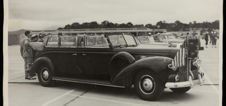 Franklin D. Roosevelt elnök autója