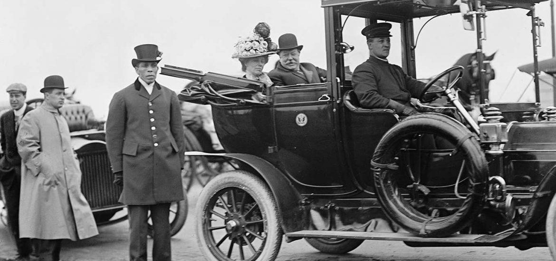 William Howard Taft elnök autója