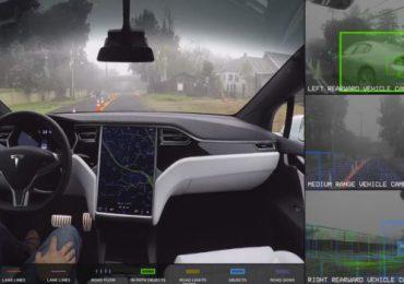 Közzé tették a teljesen önvezető elektromos Model X videóját