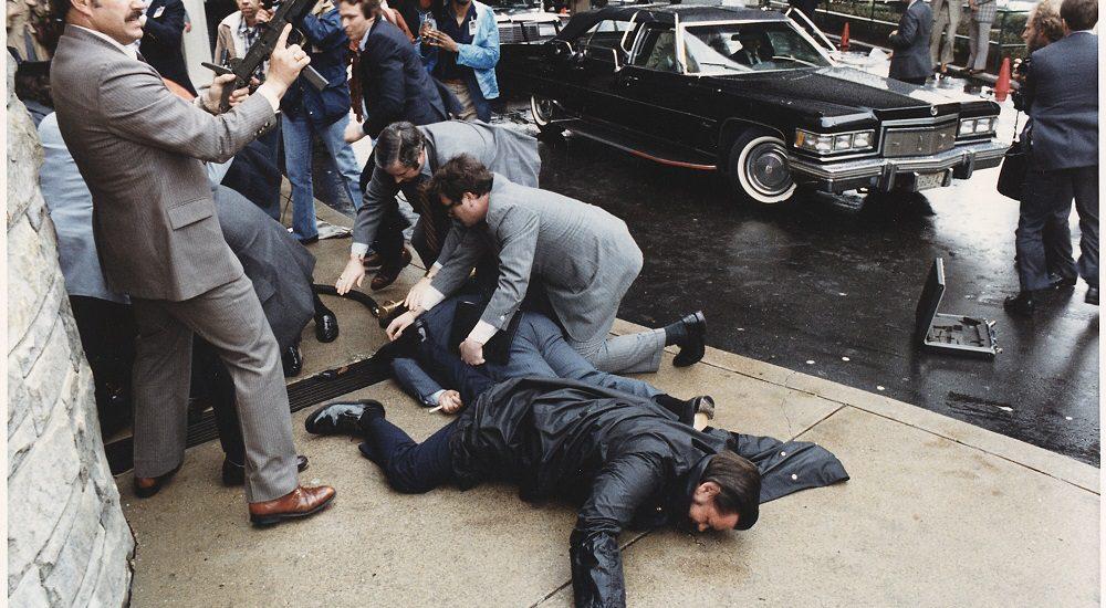 Reagan elnök autója, merényletkisérletkor