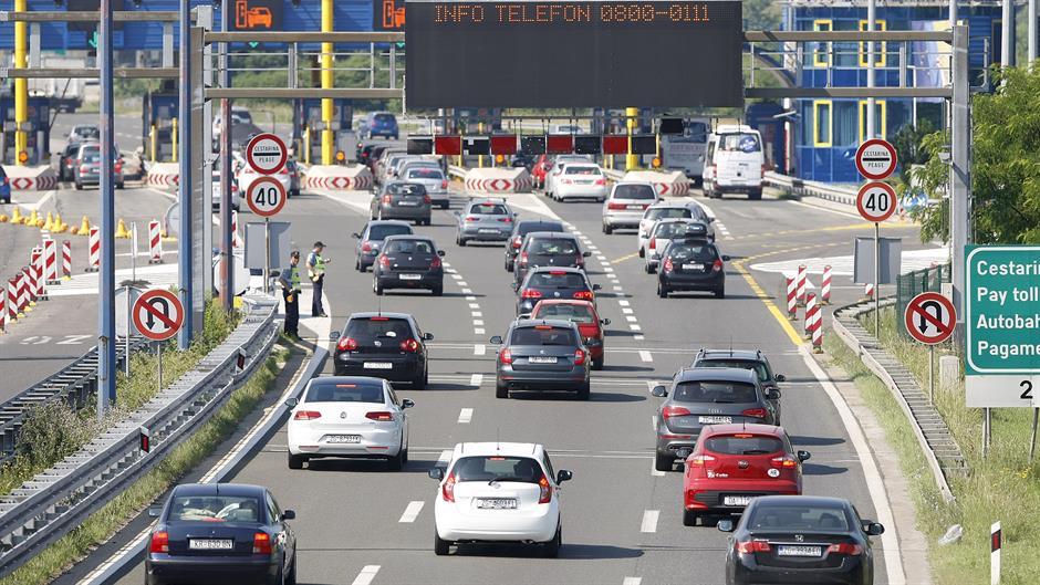 Horvátországi autópálya díjak