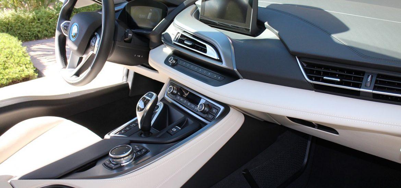 BMW i8 belső