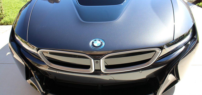BMW i8 2017-ben