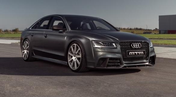 Az üzletemberek luxusverdája: Az Audi S8